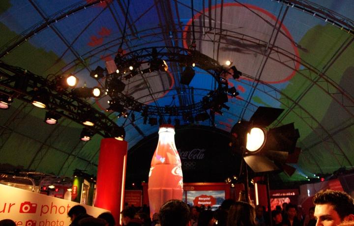 Coca Cola Live Site Pavilion - 2010 Vancouver Olympics